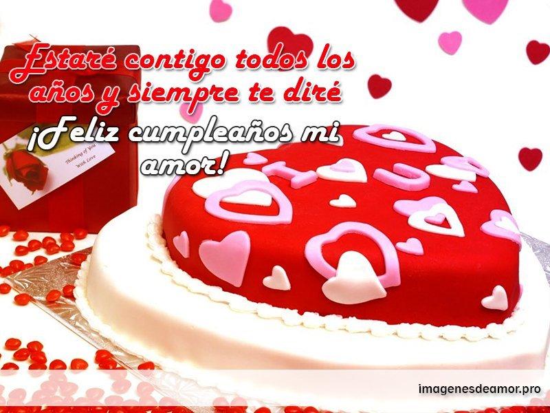 Imagenes Con Frases De Cumpleanos Para Dedicar A Mi Amor