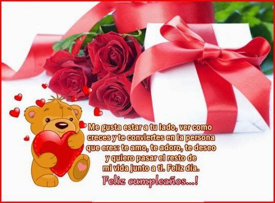 Imágenes Con Frases De Cumpleaños Para Dedicar A Mi Amor