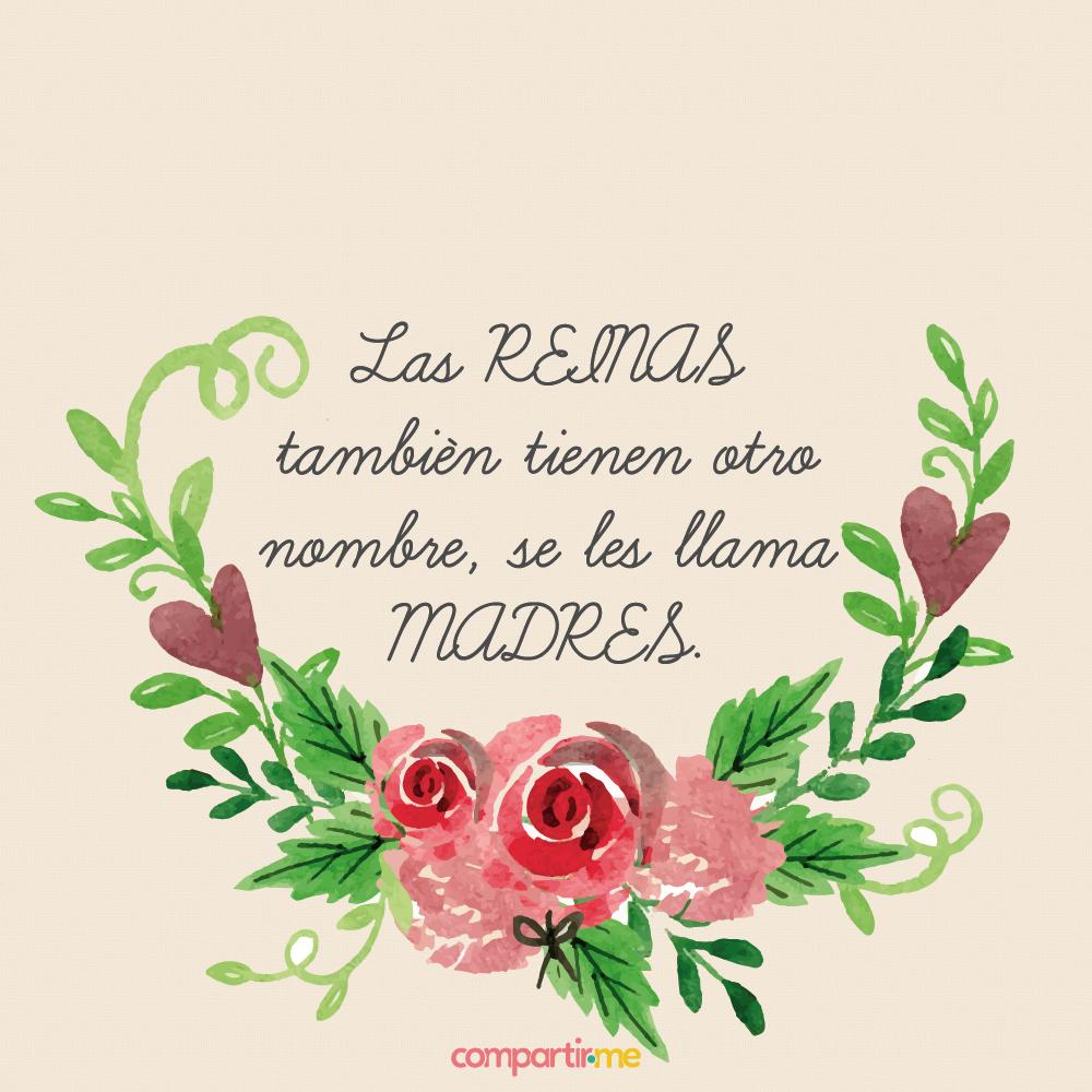 Imagenes De Feliz Día De Las Madres Con Frases y Rosas Para Compartir