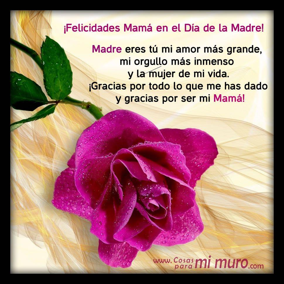 Imagenes De Feliz Día De Las Madres Con Rosas