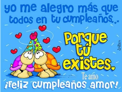 Desea Un Cumpleaños Feliz Al Amor De Tu Vida En Imagen