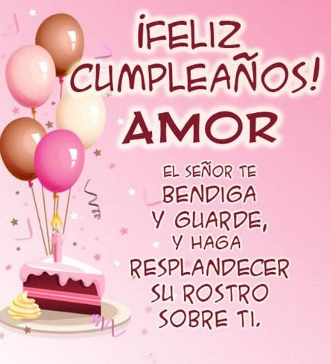 Desea Un Cumpleaños Feliz Al Amor De Tu Vida