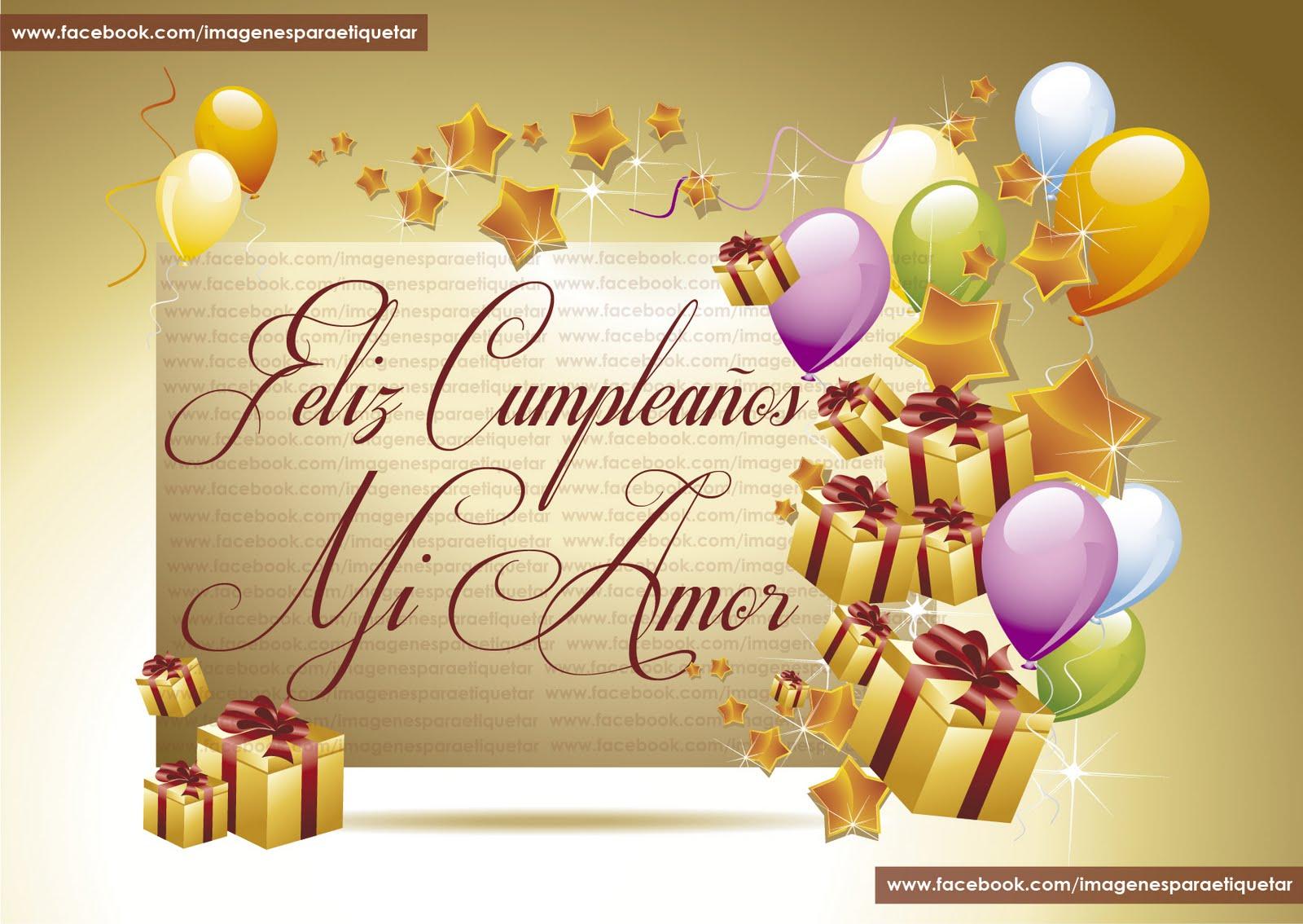 Imágenes Para Desear Un Cumpleaños Feliz Al Amor De Tu Vida