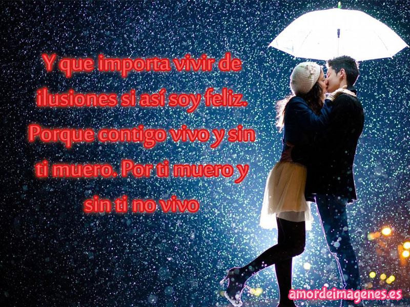 Imágenes Románticas De Parejas Enamoradas Bajo La lluvia Para Regalar Por Whatsapp