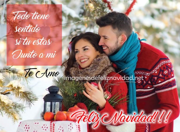 Frases De Feliz Navidad Amor En Imagen