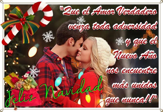 Imágenes Con Frases De Feliz Navidad Amor