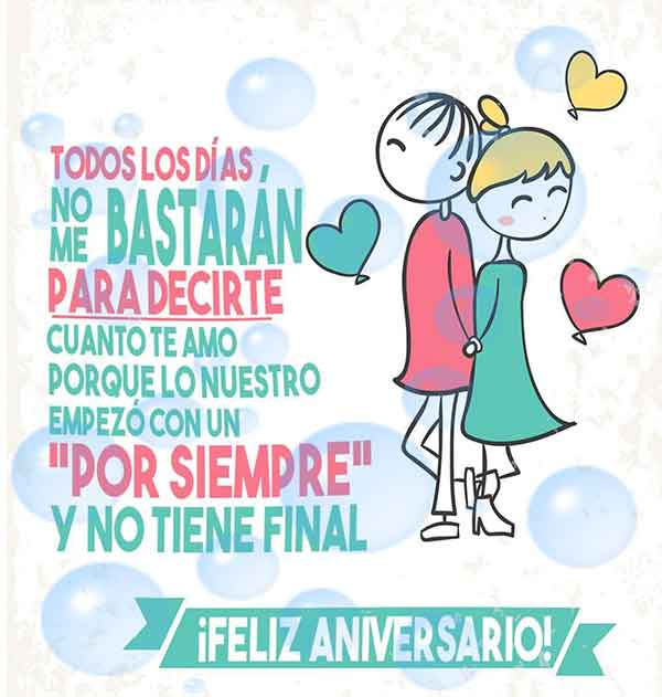 Frases De Feliz Aniversario Mi Amor
