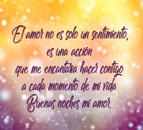 Mensajes De Buenas Noches Mi Amor
