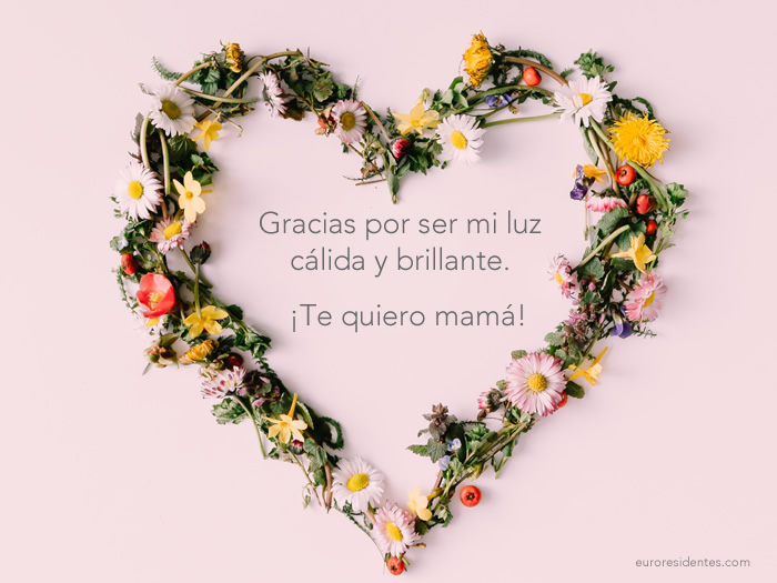 Imágenes Con Frases De Amor Para Mi Madre