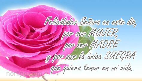 Postales De Amor Para Mi Suegra Este Día De Las Madres