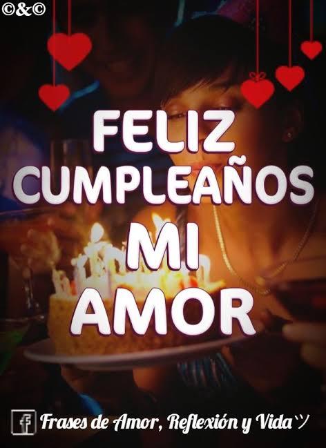 Imágenes Con Frases De Feliz Cumpleaños Amor