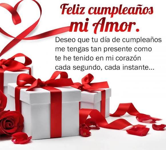 Bellas Imágenes Para Felicitar a Mi Amor En Su Cumpleaños