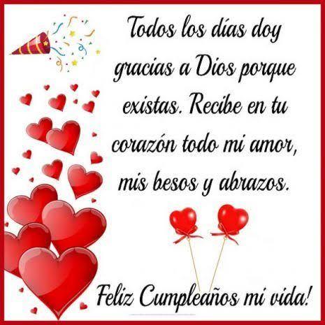 Felicidades Amor En Tu Cumpleaños