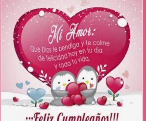 Imágenes Para Felicitar a Mi Amor En Su Cumpleaños