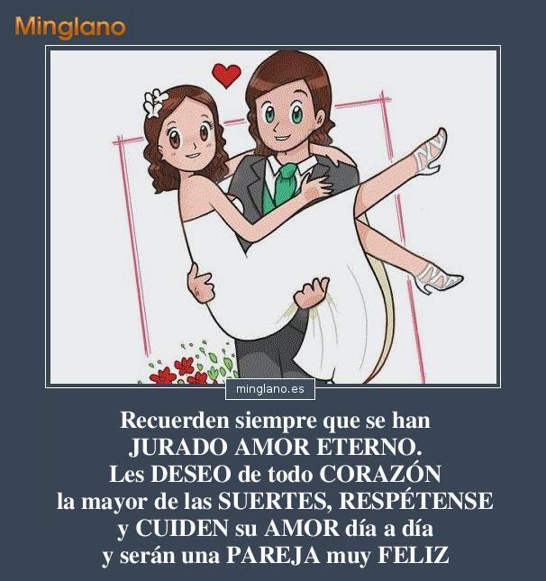 Frases De Amor Para Felicitar a Recien Casados