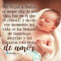 Imágenes Con Frases De Amor Para Un Bebé