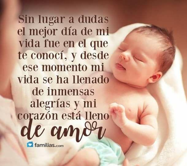 Frases De Amor Para Un Bebé