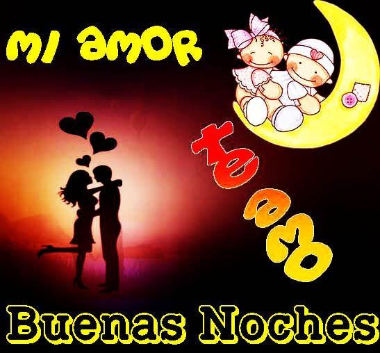 Imágenes Para Dar Las Buenas Noches a Mi Amor