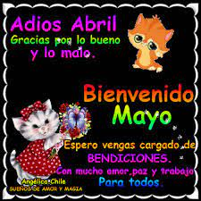 Gif Para Dar La Bienvenida Al Mes De Mayo