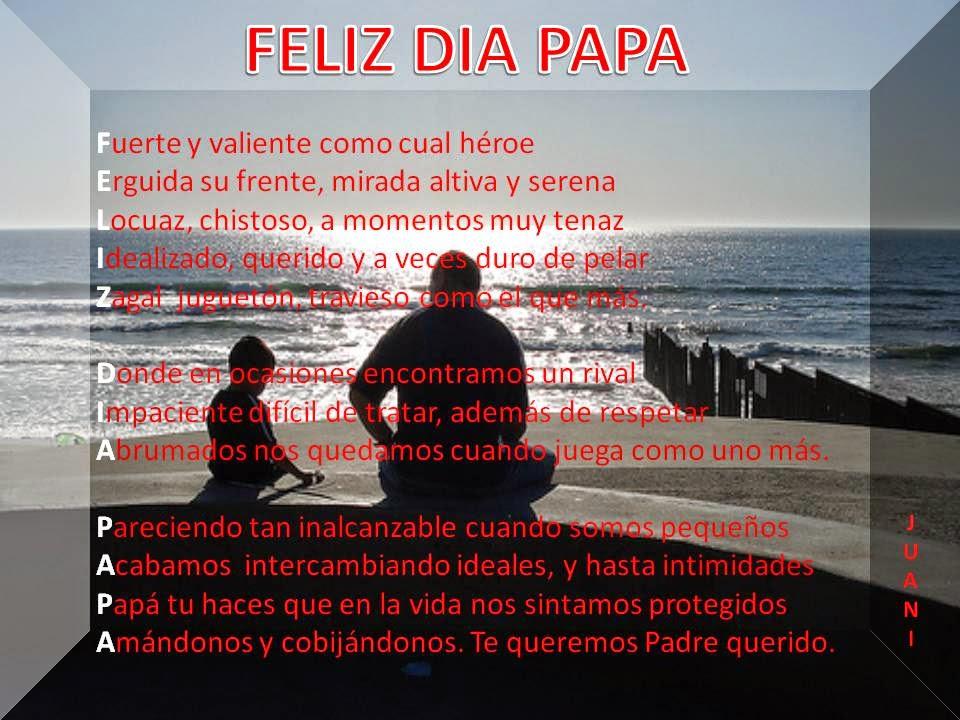 Bellas Palabras Con Amor Para Mi Padre