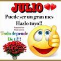 Bienvenido Hermoso Mes De Julio