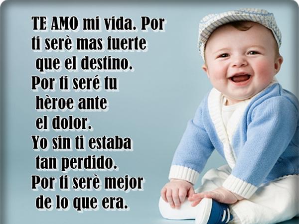 Bonitas Imágenes Con Frases De Amor Para Mi Bebé