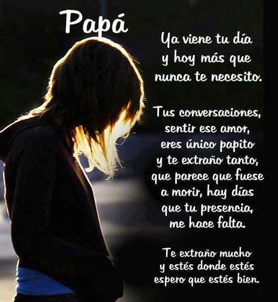 Frases Bellas Para Mi Padre Que Está En El Cielo