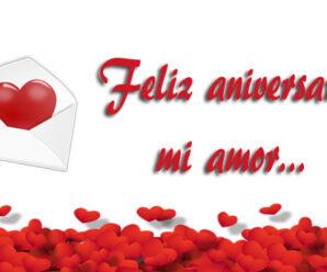 Frases Hermosas De Feliz Aniversario Amor Mío