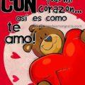 Frases De Te Amo Con Todo Mi Corazón En Imagen