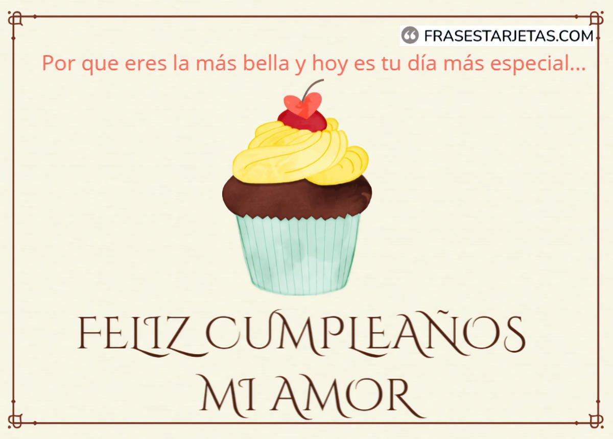 Hermosas Imágenes De Feliz Cumpleaños Mi Amor