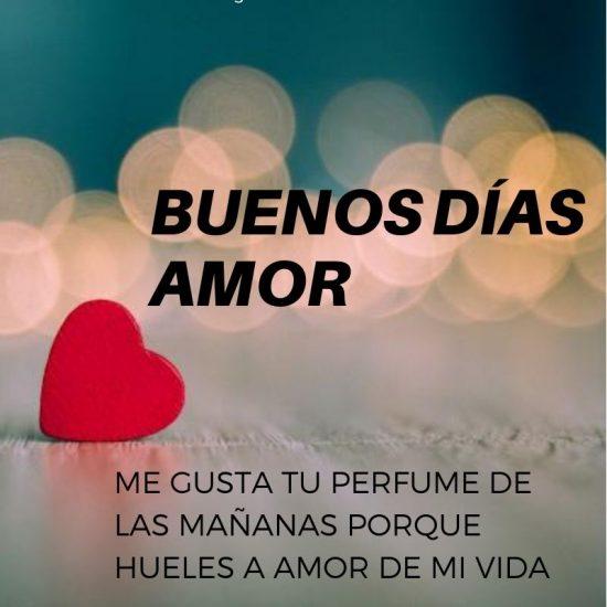 Mensajes De Buenos Días Amor De Mi Vida