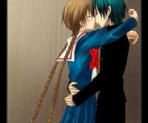 Imágenes De Parejas Bajo La Lluvia En Anime Con Frases De Amor