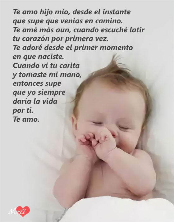Imágenes De Amor Por Mi Bebé Con Hermosas Frases